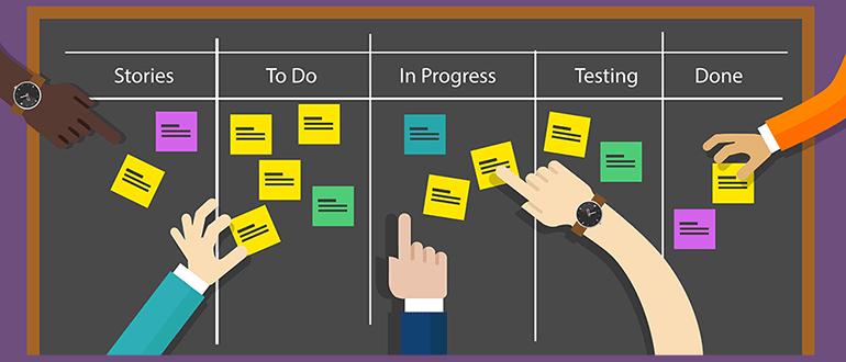 Development process and tasks