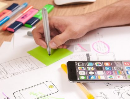 Follow UX design trends on UX blogs