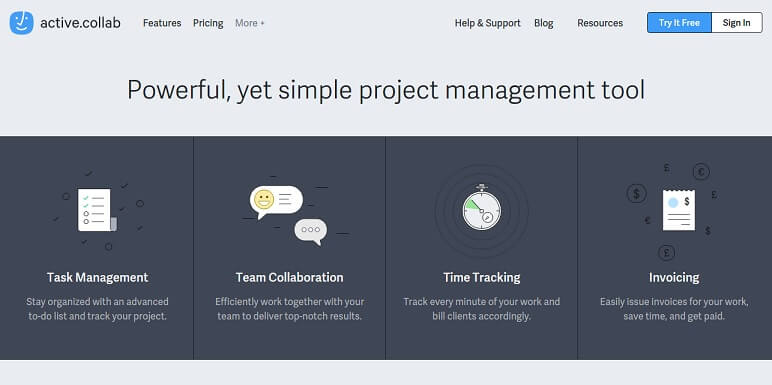 Active Collab - A project management tool