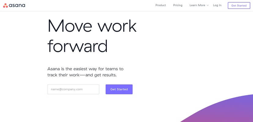 Asana - A tool to track team work and manage projects