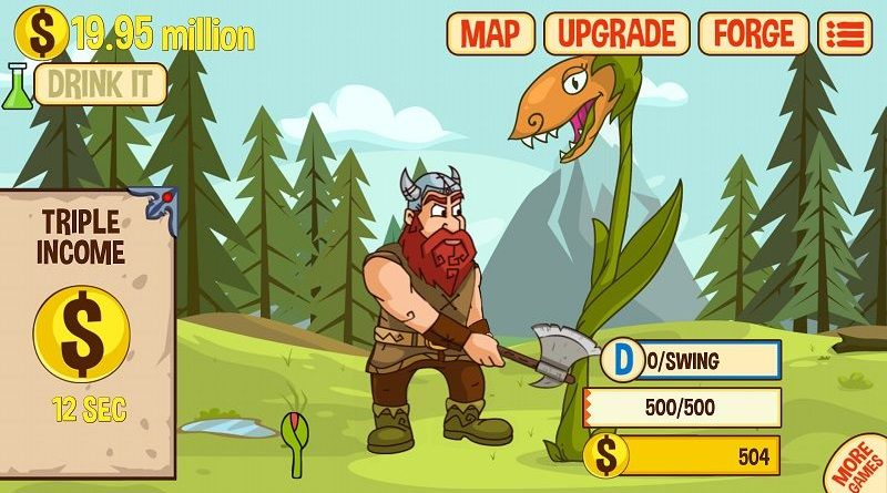 Axe Clicker – Idle Dwarf, the new addictive dwarf mobile game