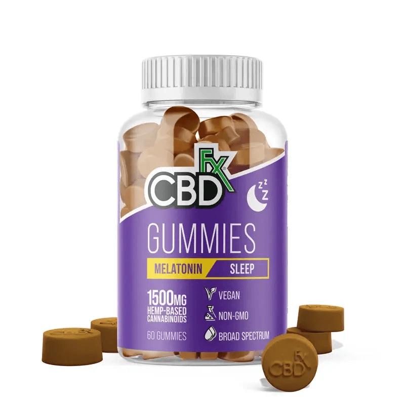 CBD Gummies with Melatonin For Sleep