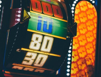 Showing numbers in a Casino game