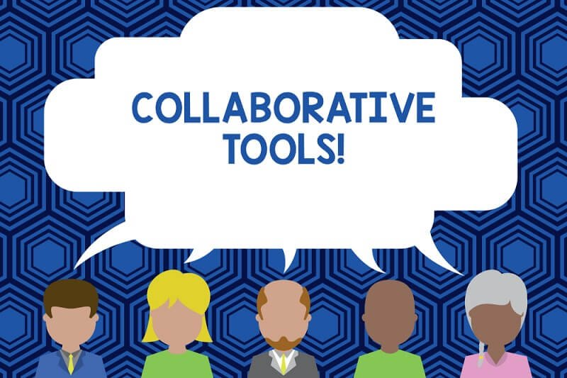 Collaborative tools for team working from home