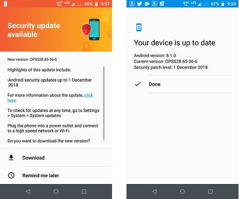 Latest Android Security Update Available for Download for Motorola