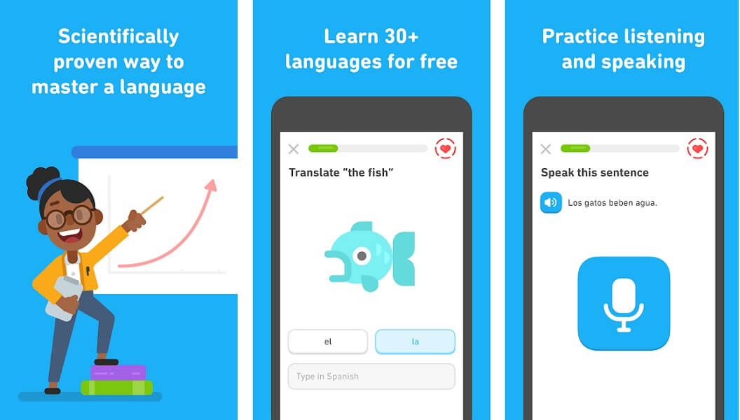 Duolingo - Language learning app for Android and iOS