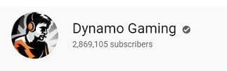 Dynamo Gaming on YouTube