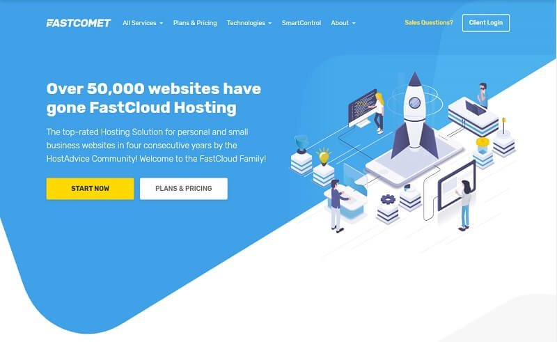 FastComet - Managed Cloud Hosting