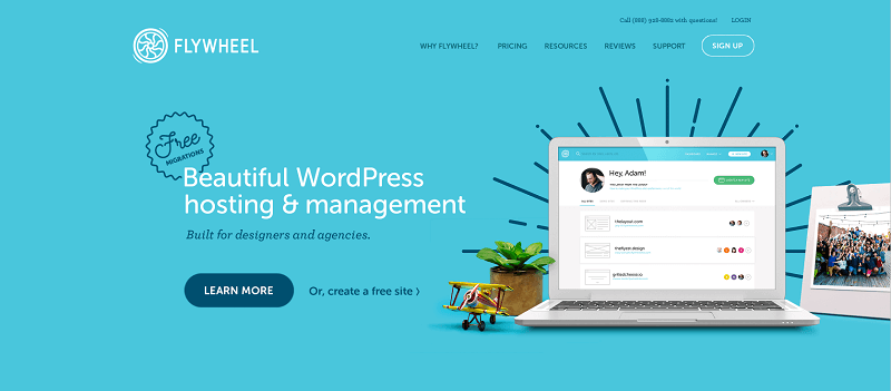 Flywheel - Managed WordPress Hosting