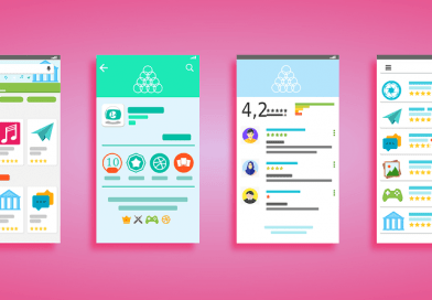 Google play store user interface