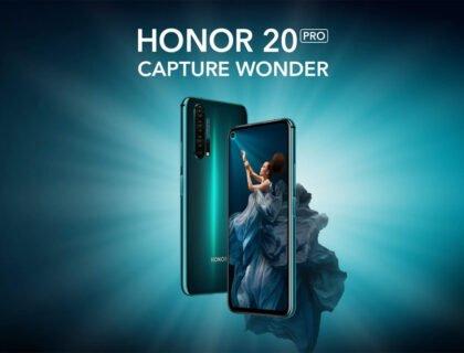 HONOR's 20 PRO Smartphone