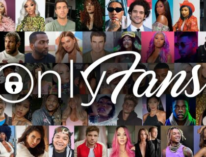 OnlyFans banner showing faces of many OnlyFans content creators