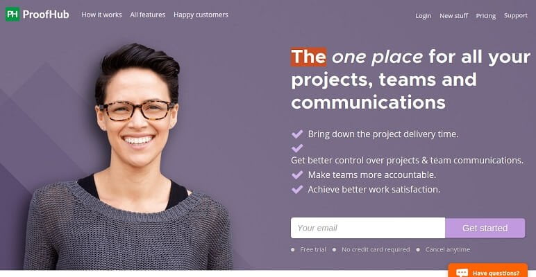 ProofHub - An online project management software and collaboration tool