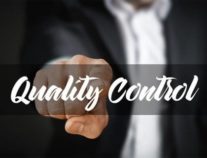 Quality control using quality management systems