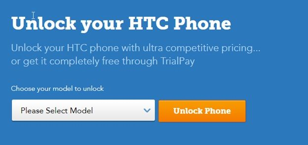 Unlock your HTC smartphone