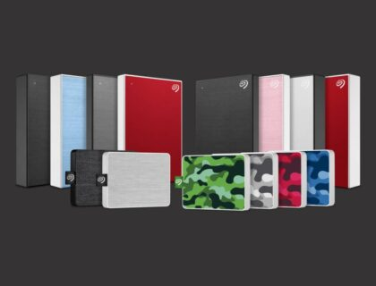 Collection of Seagate External Hard Disk Drives (HDDs)