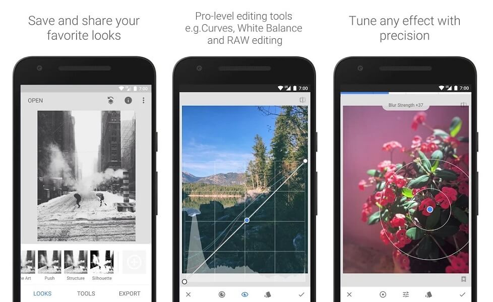 Snapseed - Photo editing app for Android and iOS