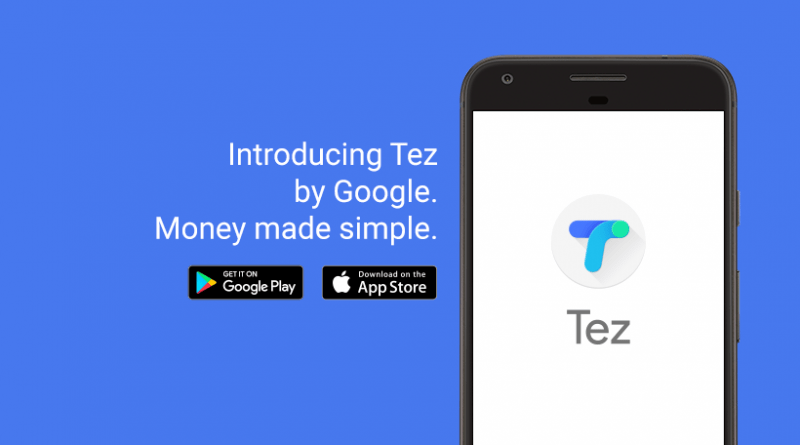 Digital payments app Tez by Google