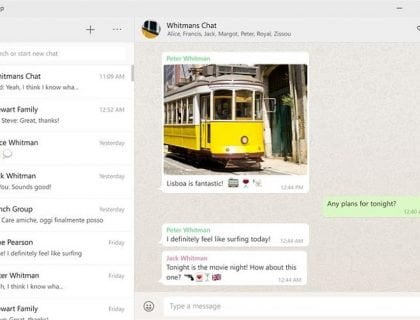 WhatApp Desktop App for Windows 10 Released
