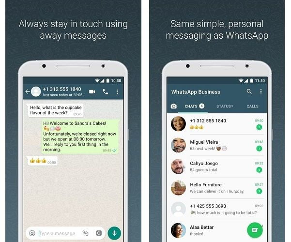 WhatsApp Business Android App more Screenshots