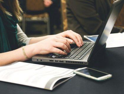 Women writing research paper